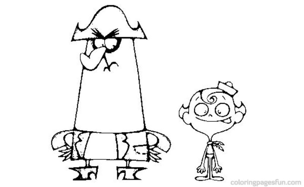 misadventures of flapjack coloring pages - photo#8
