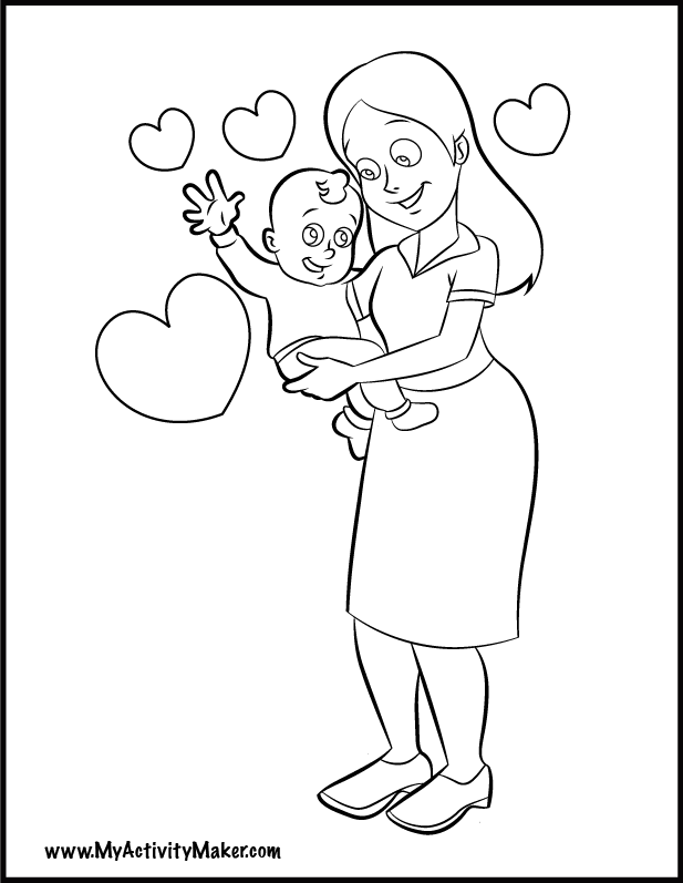 mother 3 Colouring Pages
