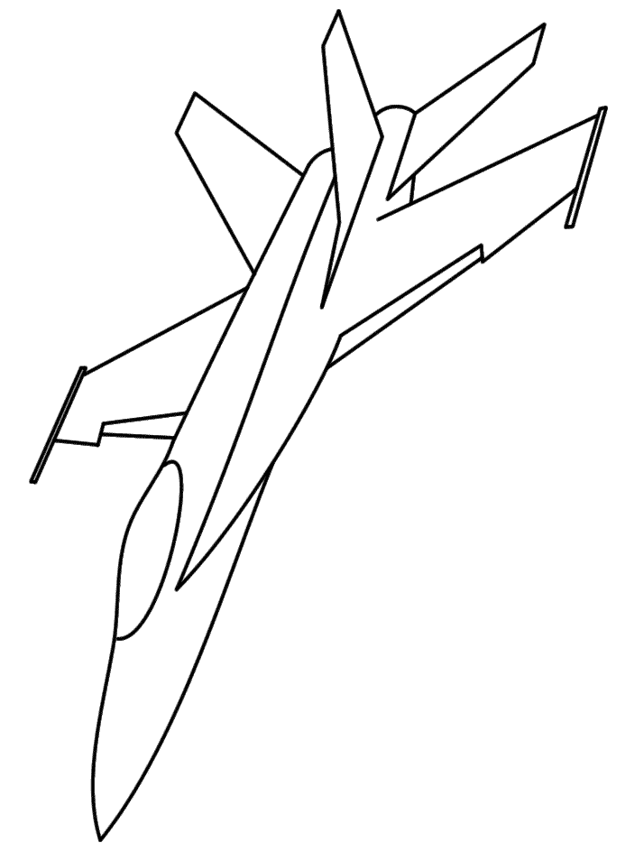 Fighter jet coloring pages coloring home for Coloring page jet