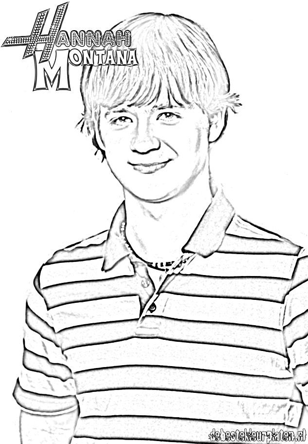 Free printable coloring pages hannah montana az coloring for Hannah montana coloring pages free to print