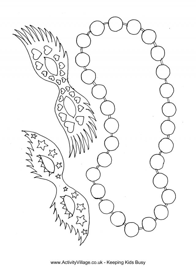 Mardi Gras Mask Coloring Page Free Clip Art Mardi Gras ...