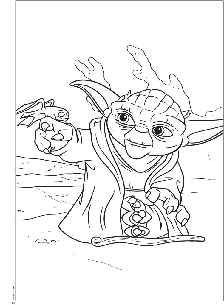 Yoda Coloring Pages Coloring