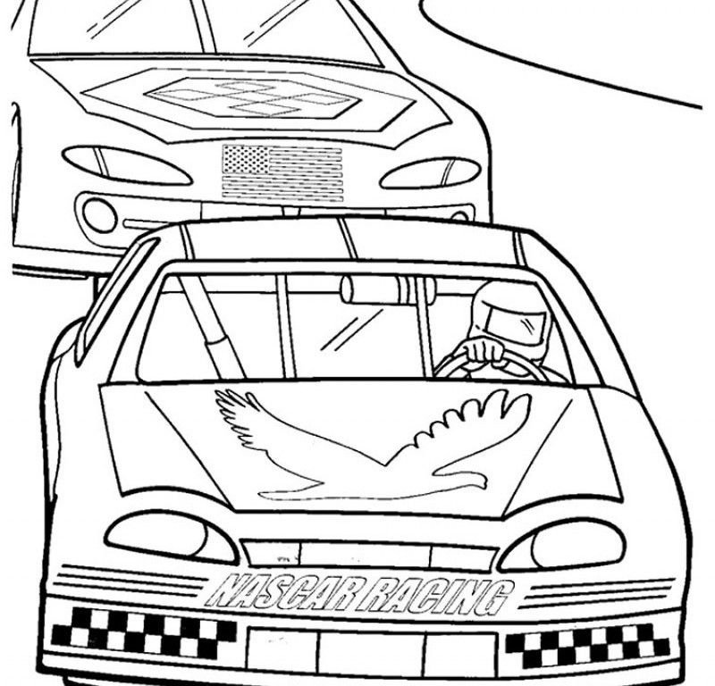 The gallery for nascar crash coloring pages for Nascar 88 coloring pages