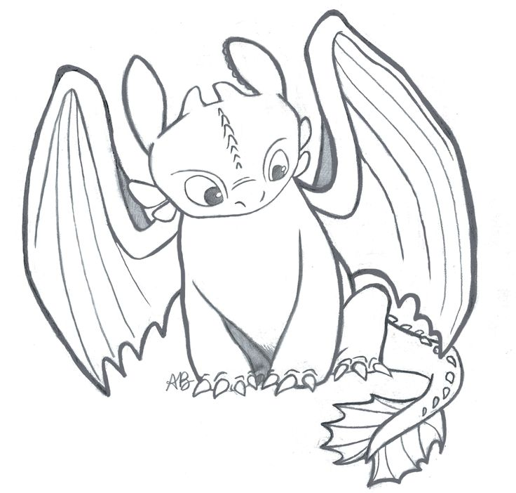 - Toothless Coloring Page - Coloring Home