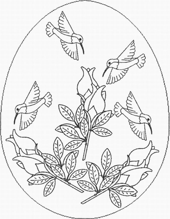 Embroidery Hummingbird Art That Inspires Az Coloring Pages