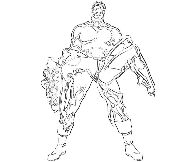 X-Men Cyclops Abilities | Yumiko Fujiwara - AZ Coloring Pages X Men Coloring Pages Cyclops