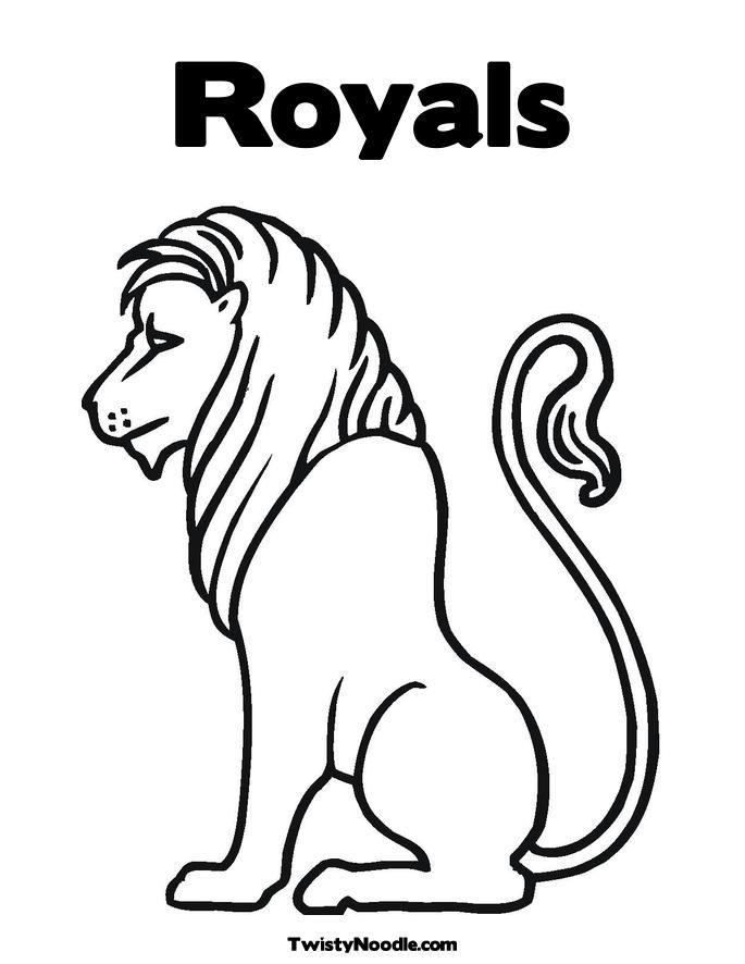 Kansas City Royals Coloring Pages Coloring Home