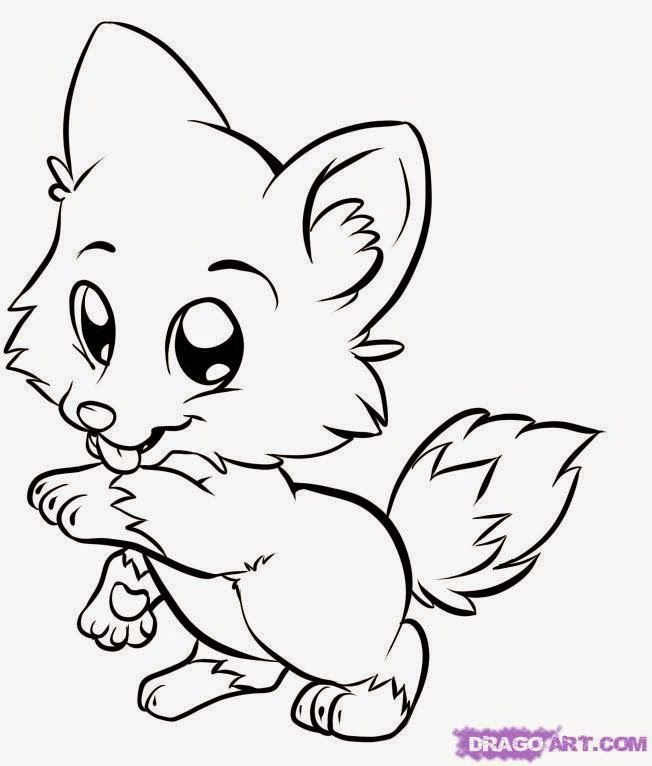 Baby Animals Coloring Pages | Wild Animals
