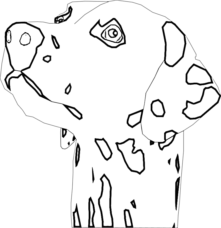 dalmation coloring book pages - photo#19