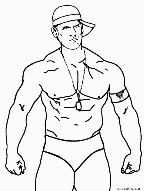 John Cena Coloring Pages Printable Az Coloring Pages Cena Coloring Pages Printable