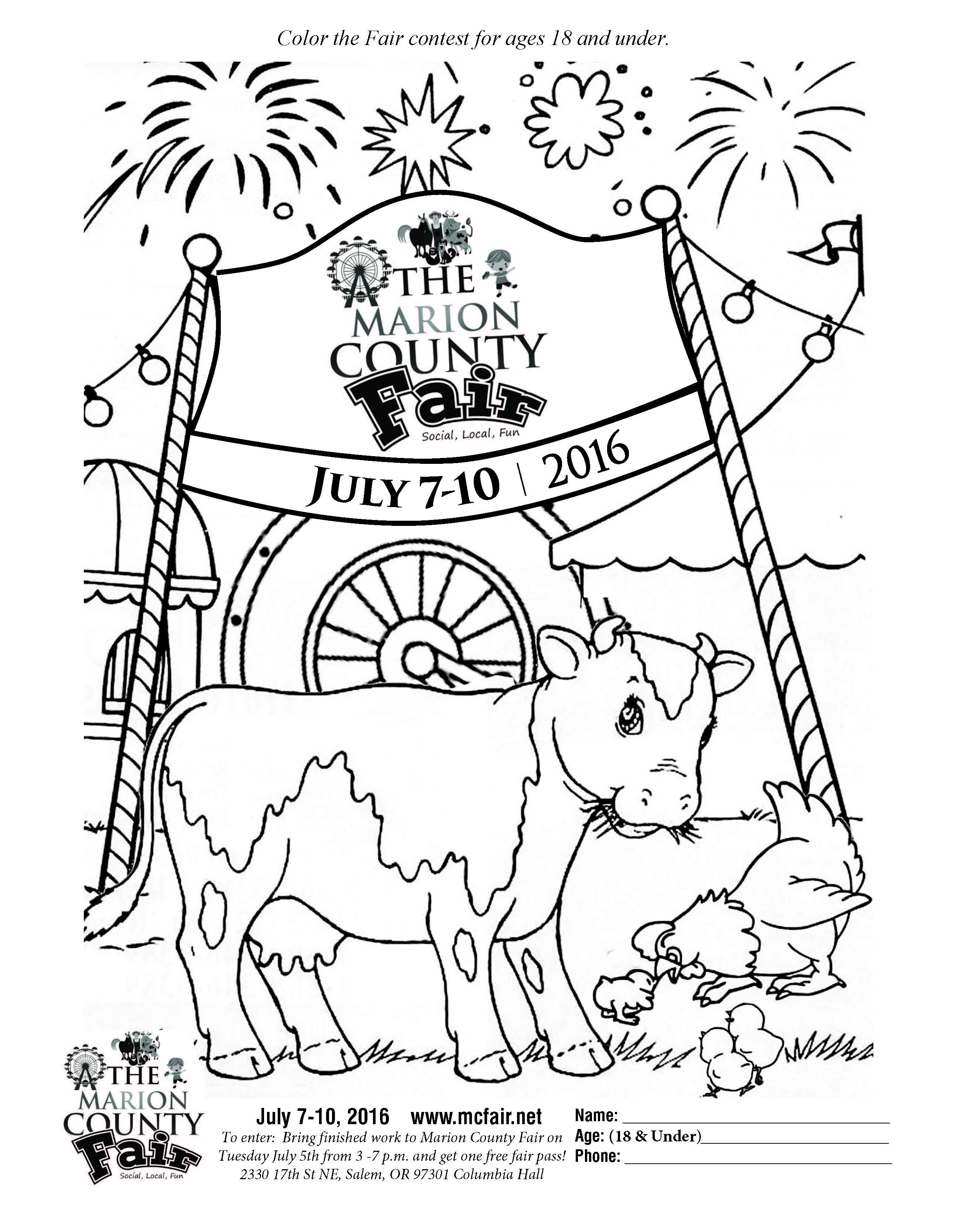 Youth Coloring Pages