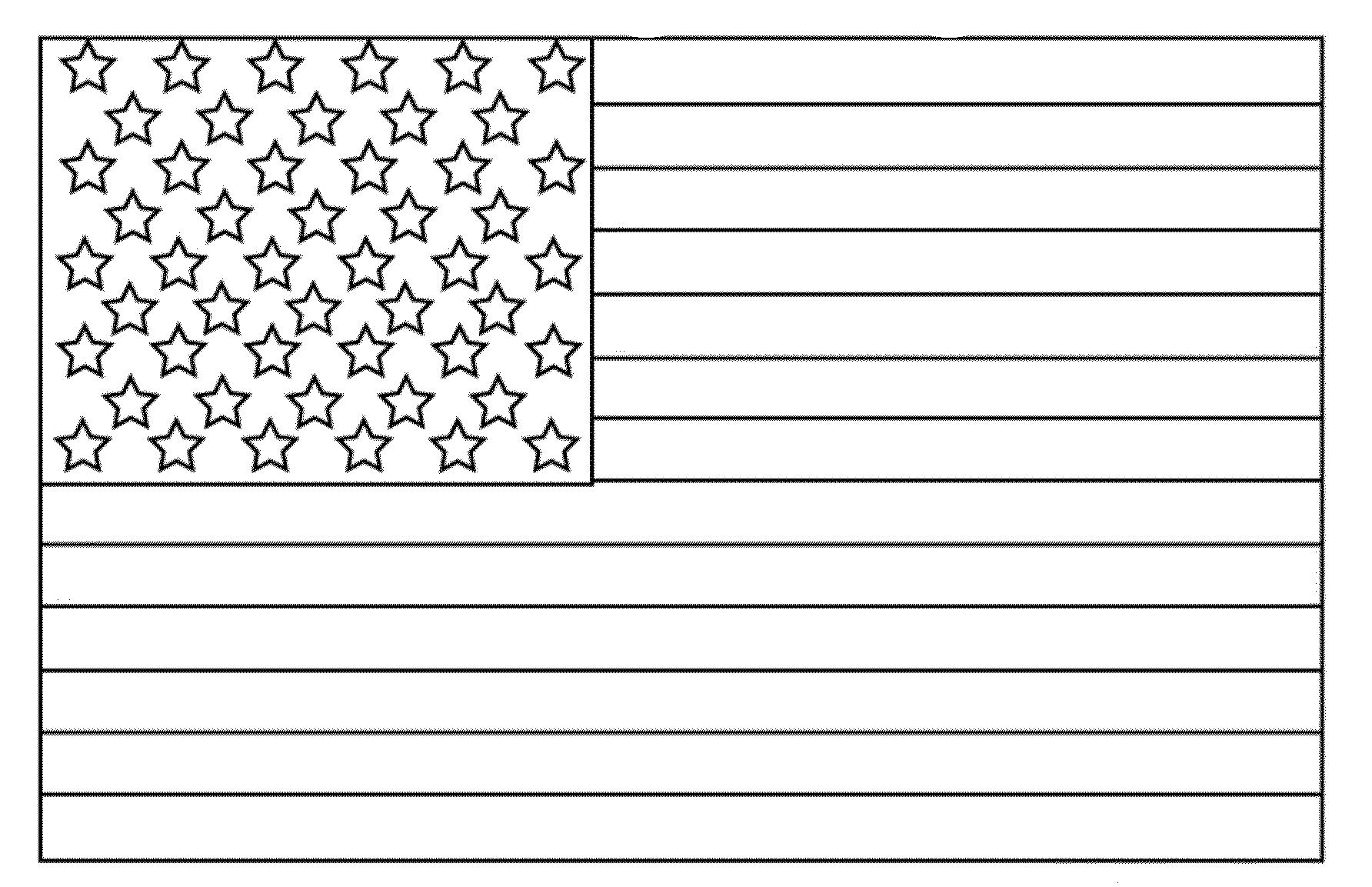 Original American Flag Coloring