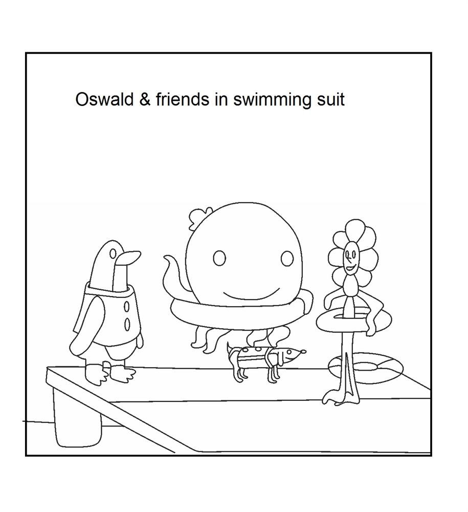 henry the ocotopus coloring pages - photo#27
