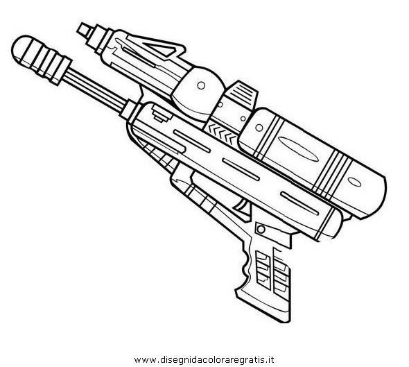 nerf pistool kleurplaat kleurplaat nerf geweer woyaolu