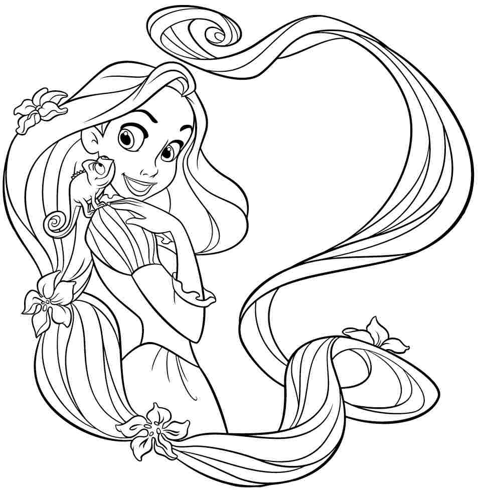 Princess Rapunzel Coloring Pages Face Az Coloring Pages Coloring Pages Tangled