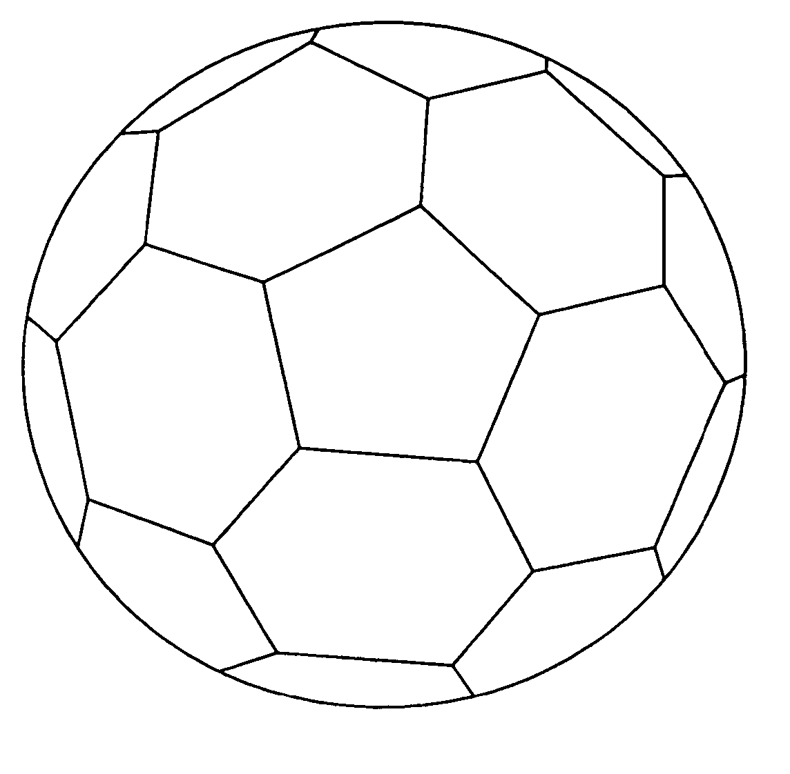 Free Printable Soccer Ball Coloring Page Cool - Coloring pages