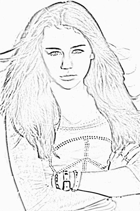miley cyrus coloring pages miley cyrus smoking weed miley
