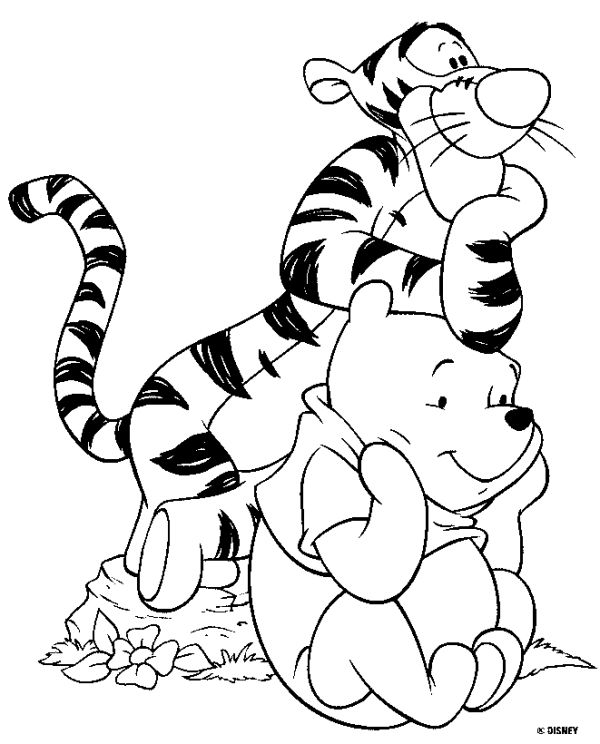 Disney Coloring Book Pages Coloring Home