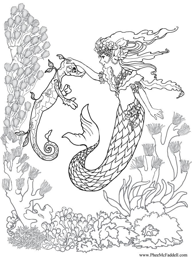 Coloring pages | Coloring Pages, Mermaid Coloring and ...