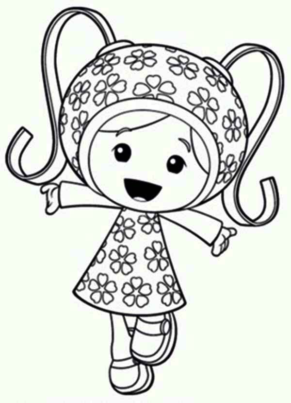 team umizoomi coloring pages print - photo#34