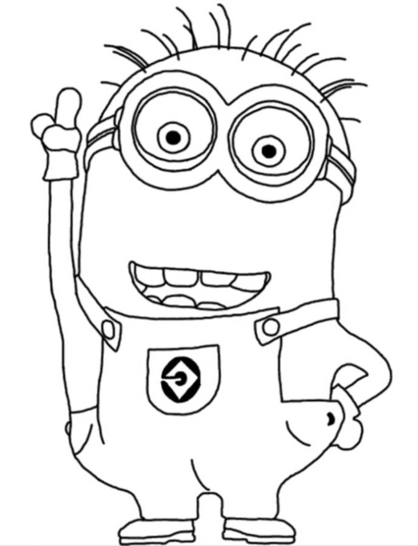 minion printable coloring sheets high quality coloring pages