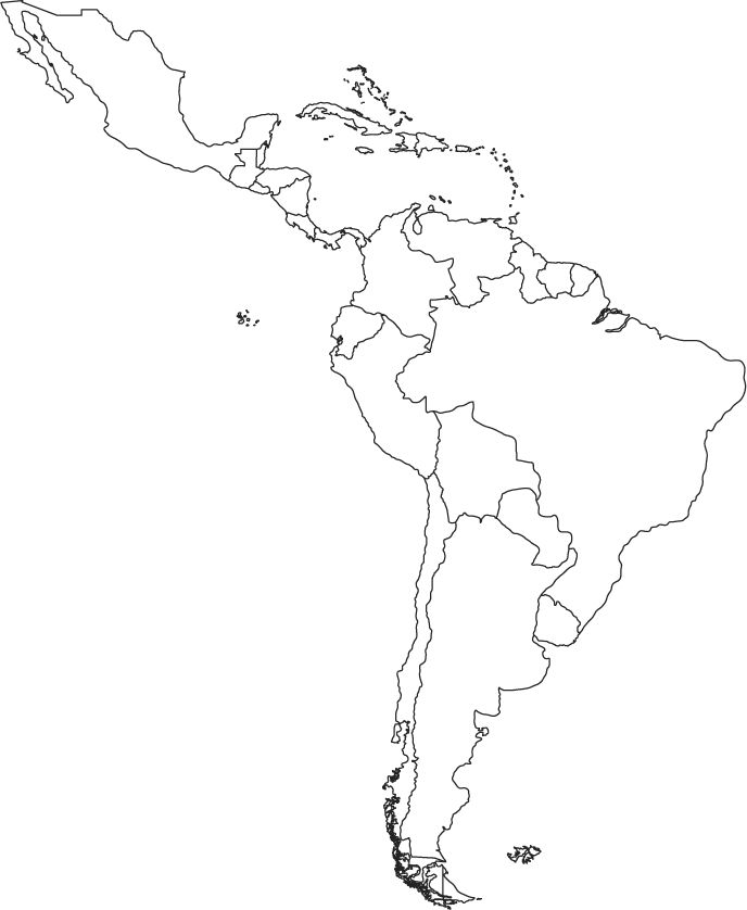 1000 Ideas About Latin America Map On Pinterest South