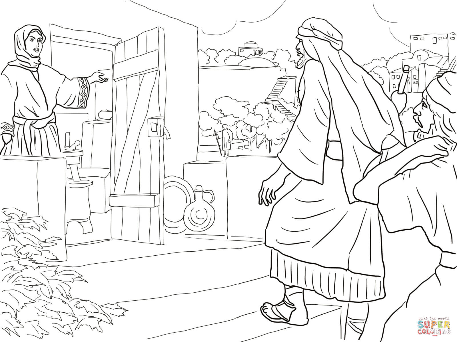 Uncategorized Elisha Coloring Page new room built for elisha coloring page free printable coloring