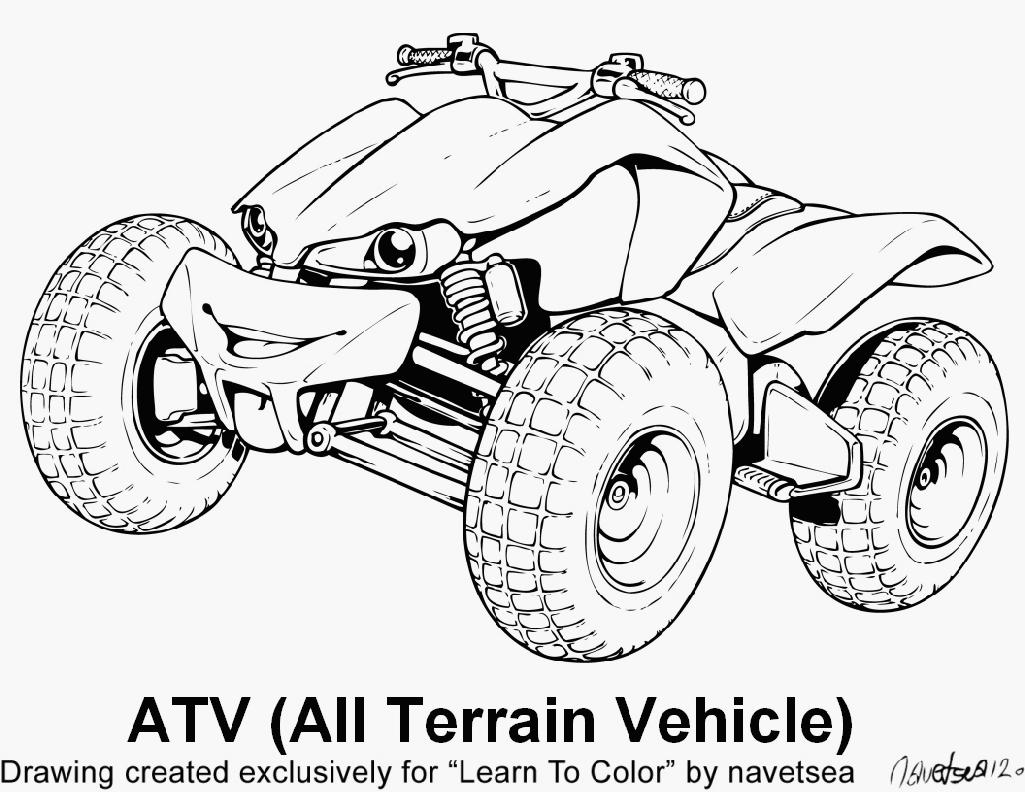 eighteen wheeler coloring pages - photo#33