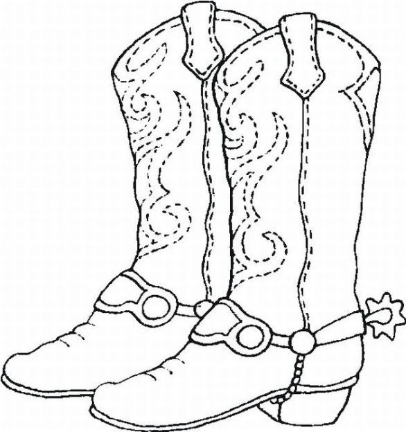 1000+ images about Boots on Pinterest | Coloring, Cowboy christmas ...