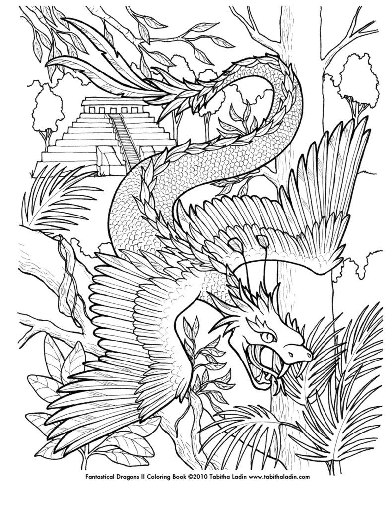 coloring pages of fantasy - photo#49