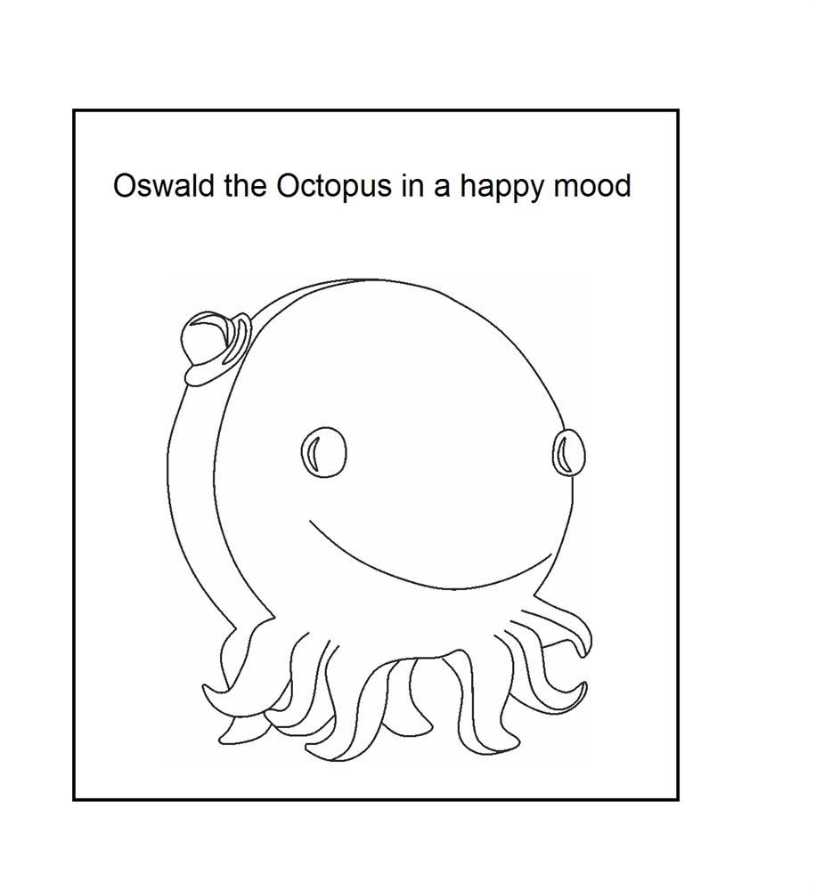 henry the ocotopus coloring pages - photo#3