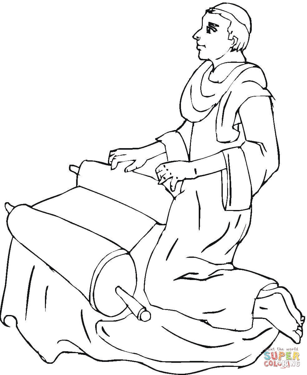 jeremiah coloring pages - photo#23