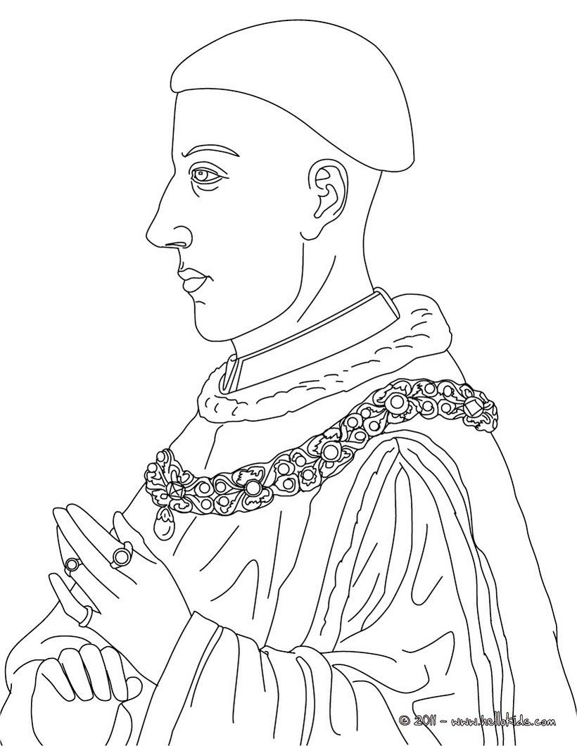 BRITISH KINGS AND PRINCES Colouring Pages - QUEEN ...