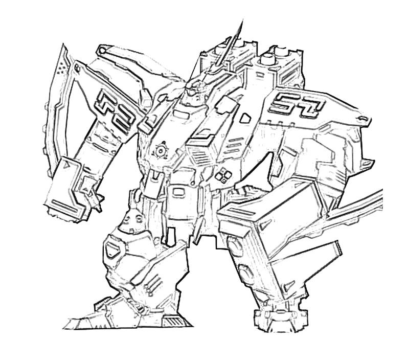 Coloring Pages Of Robots To Print Coloring Home