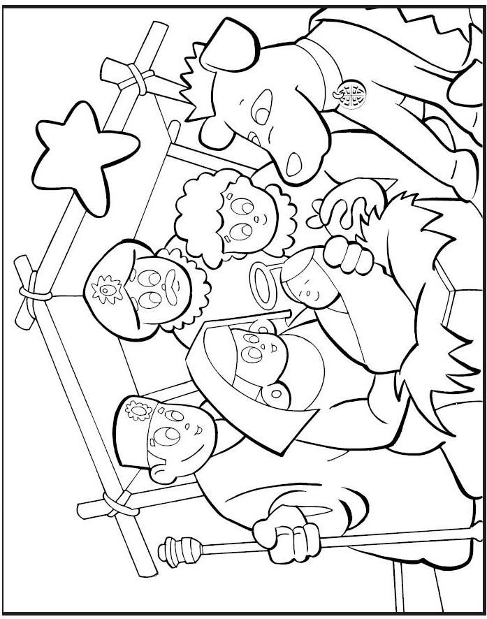 WISE MEN Colouring Pages (page 2)