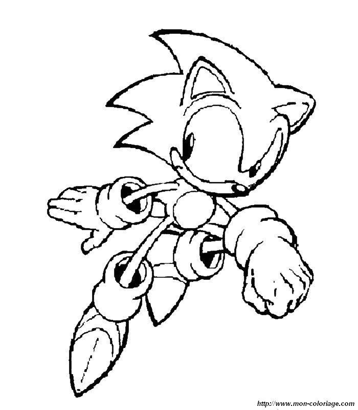 Coloring Pages For Girls: Sonic Coloring Pages