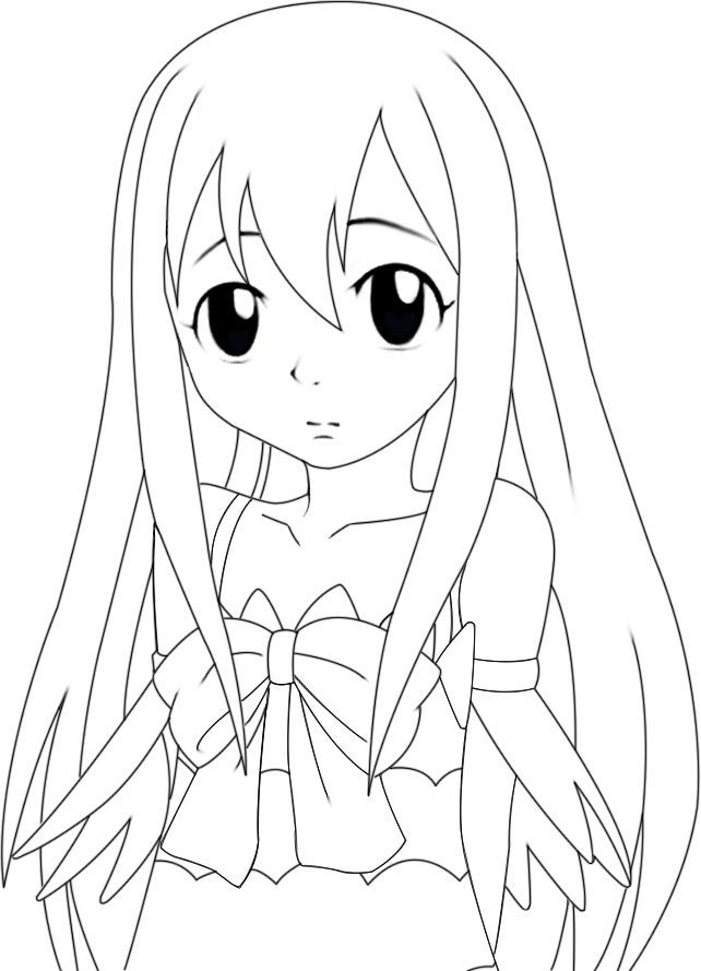 Fairy Tail Lucy Coloring Pages - High Quality Coloring ...