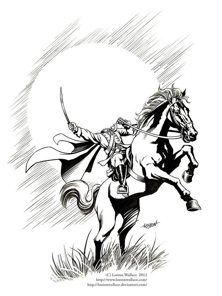 Headless Horseman Coloring Page Coloring Home Headless Horseman Coloring Pages