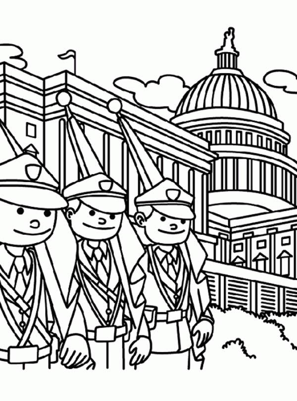The White House - History, Facts, Pictures and Coloring pages | 810x600