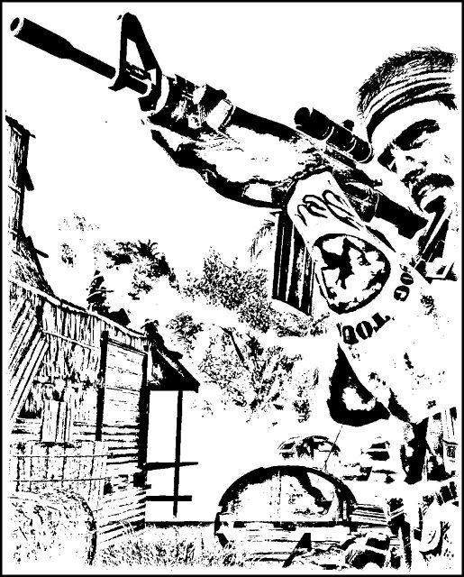 Call Of Duty Black Ops Coloring Page Coloring Home