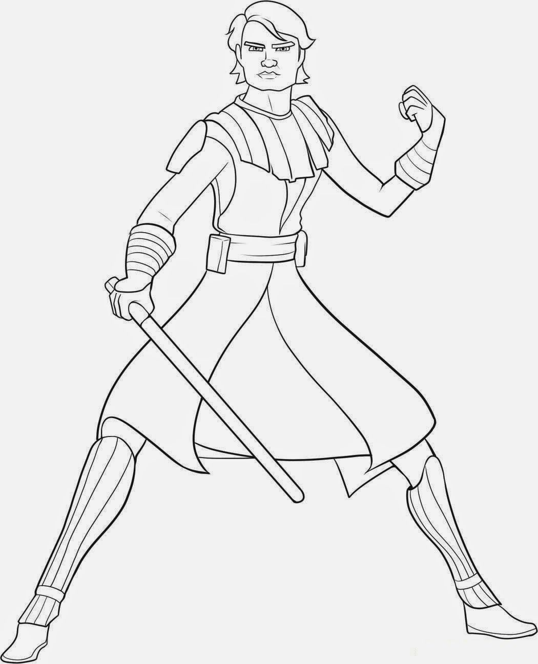 Coloring Pages Star Wars Luke Skywalker Coloring Coloring Home
