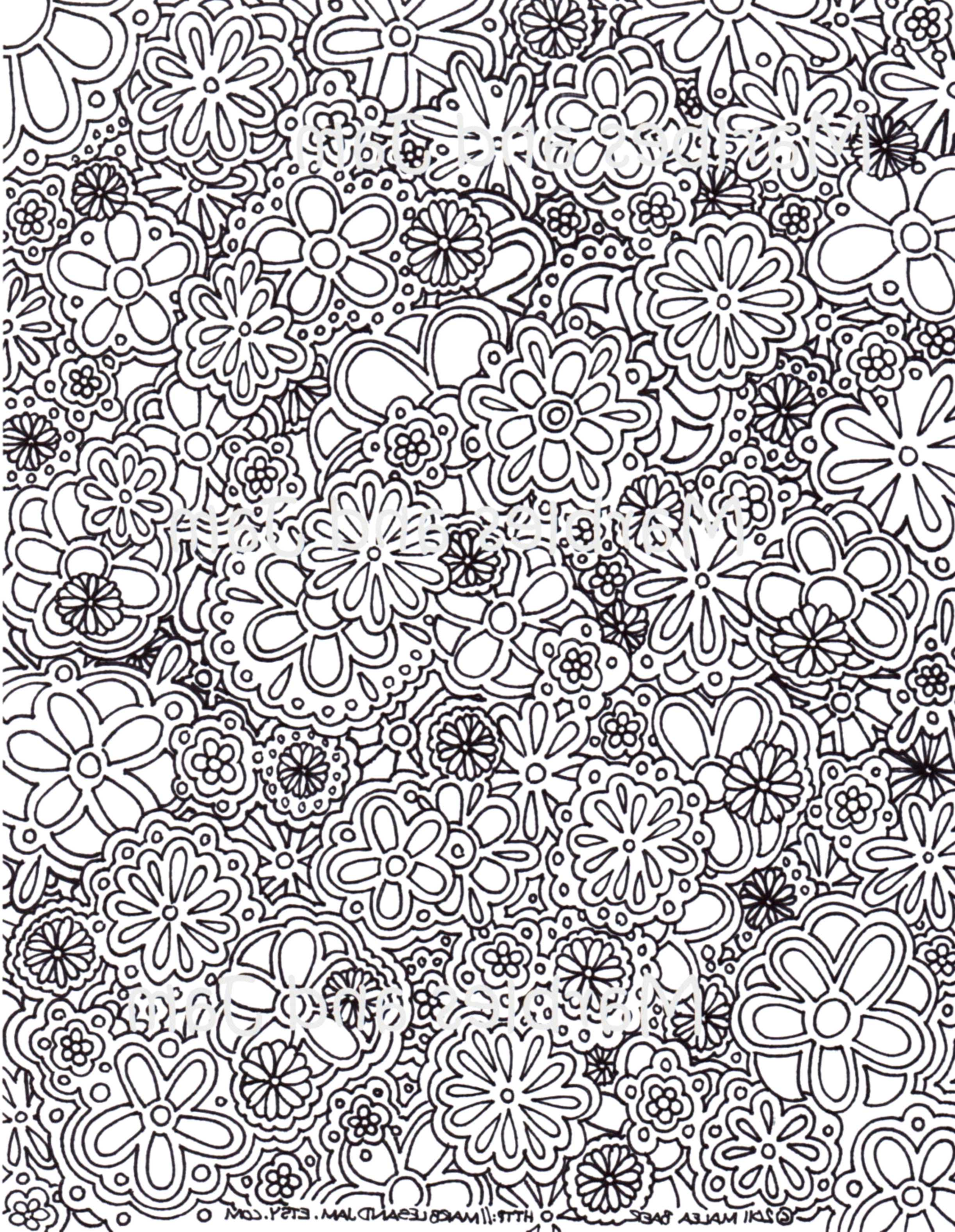 complex coloring pages for kids and adults printable kids - Complex Coloring Pages