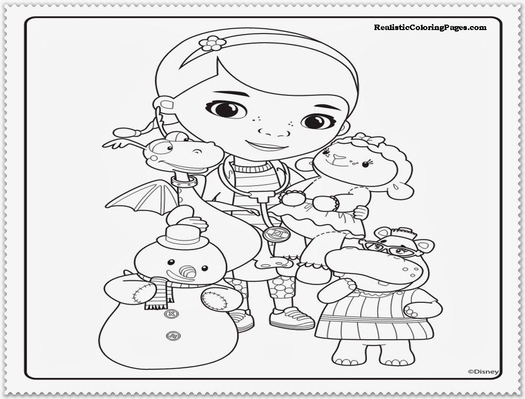 free printable doc mcstuffins coloring pages - doc mcstuffins coloring page coloring home