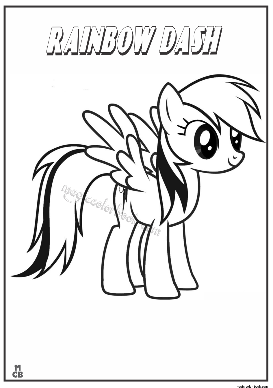 Little Pony Coloring Pages Printable Coloring Home
