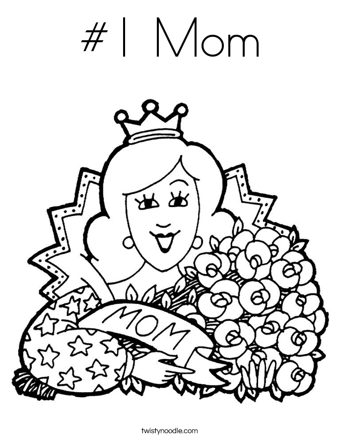 Holiday Coloring Pages - Twisty Noodle