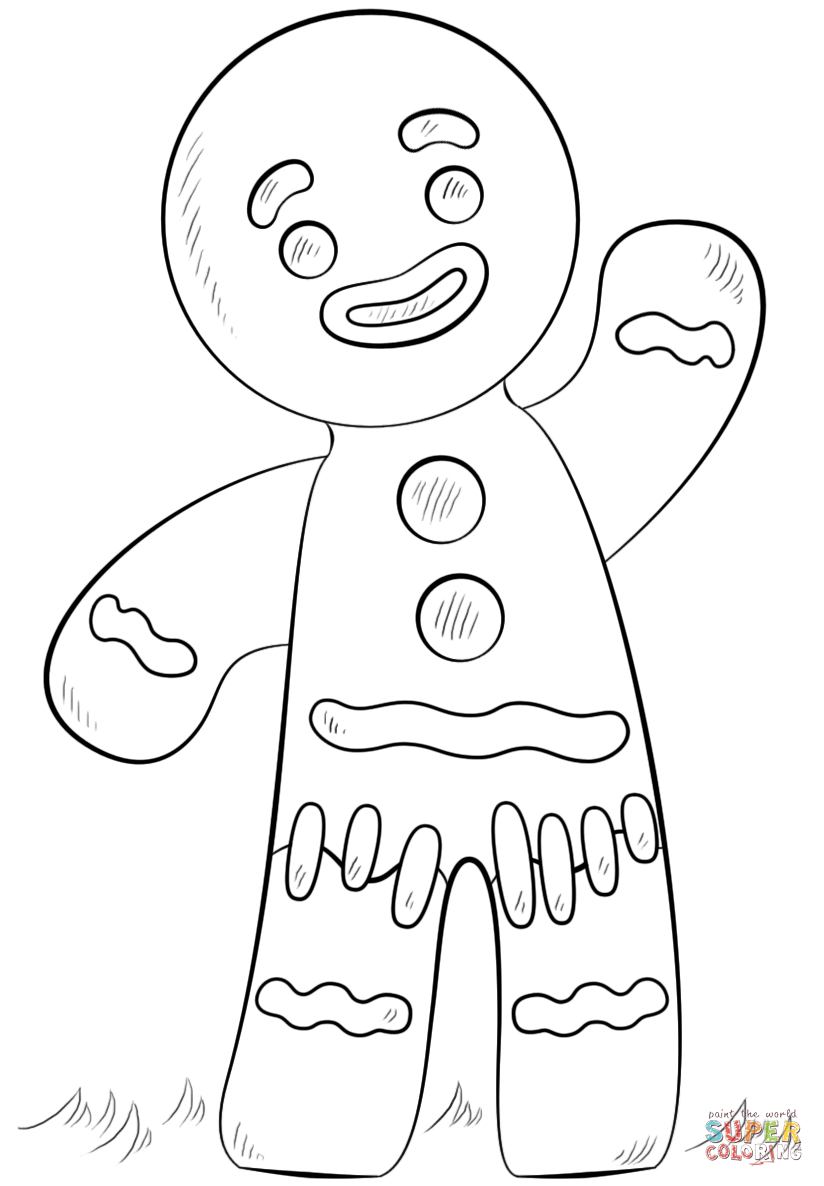 Coloring Pages Of Gingerbread Man Story - AZ Coloring Pages