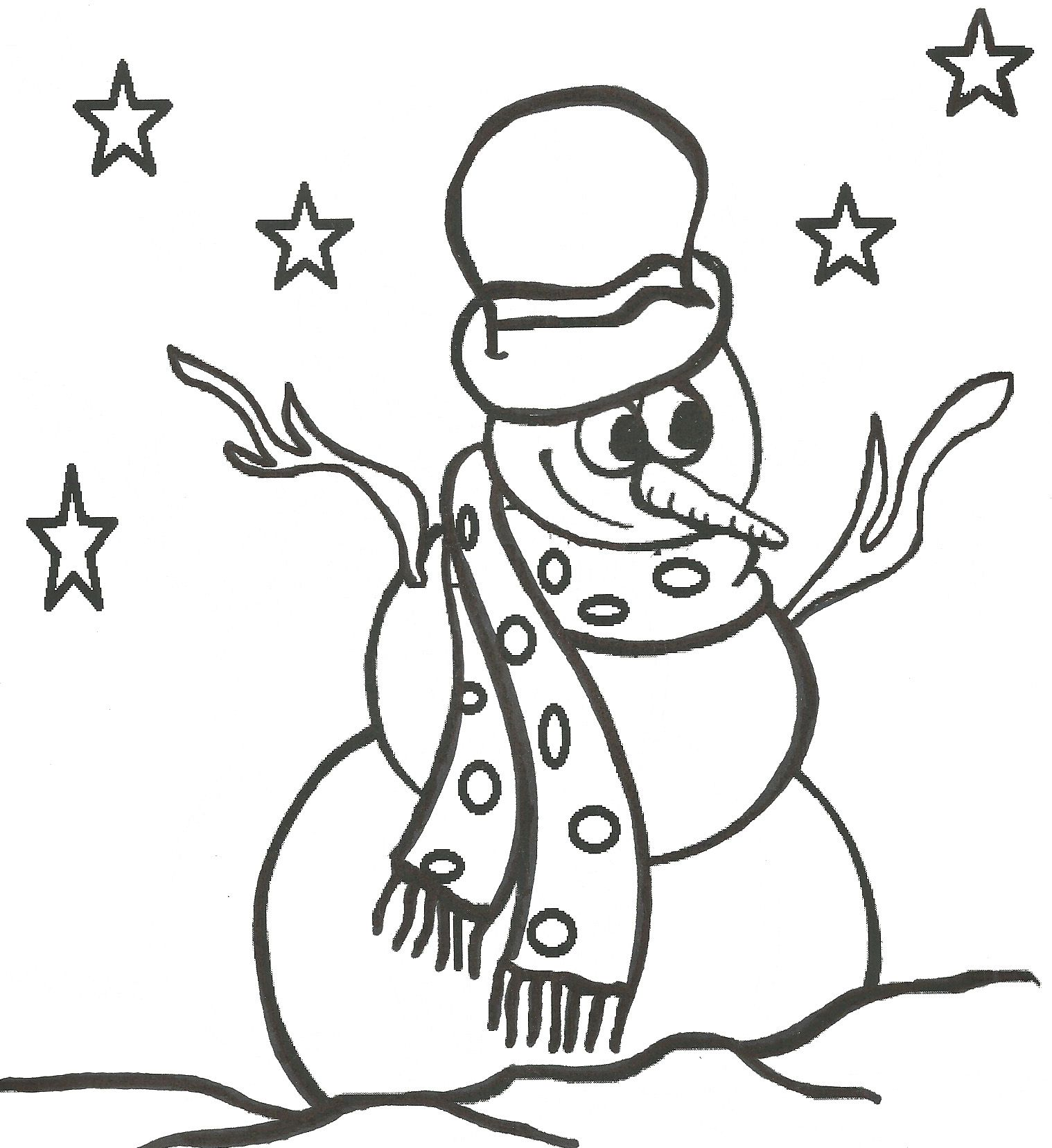 Printable Coloring Pages Christmas