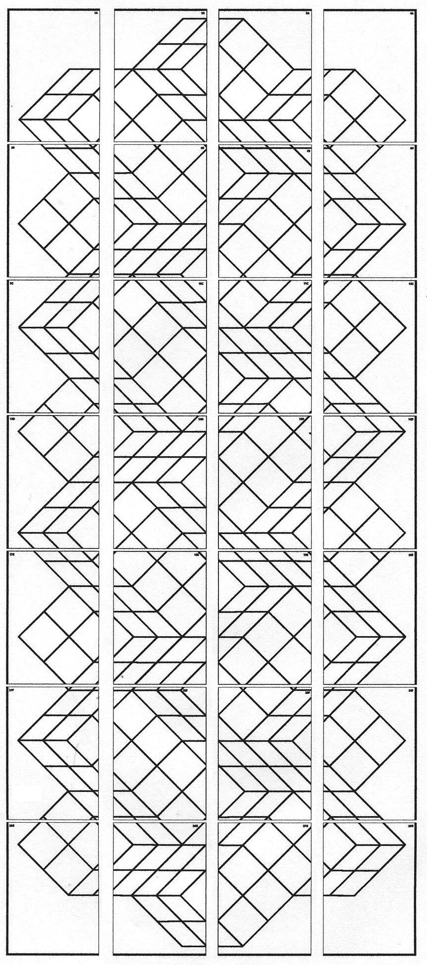 vasarely coloring pages - photo#15
