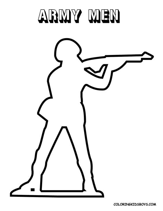 army guy printable coloring pages - photo#27