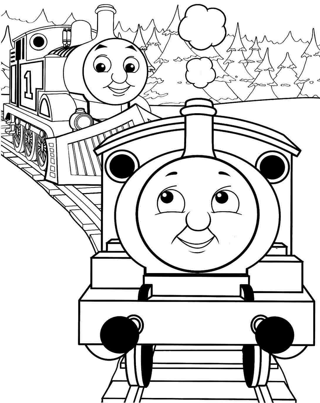 Printable coloring pages thomas the train - Thomas The Train Coloring Pages Google Search Thomas The Train